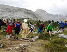 Dolomiten Mountainbike Reise durch Fanes Sennes Nationalpark. Trails und Touren rund um die Sella Ronda. Die MTB Rundreise über die schönsten Trails um Kronplatz, St. Vigil und Alleghe. Dolomiten Bikereise