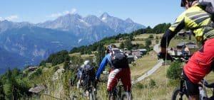 Trailcamp Aosta, Trailholidays Mountainbe reisen camps und transalp