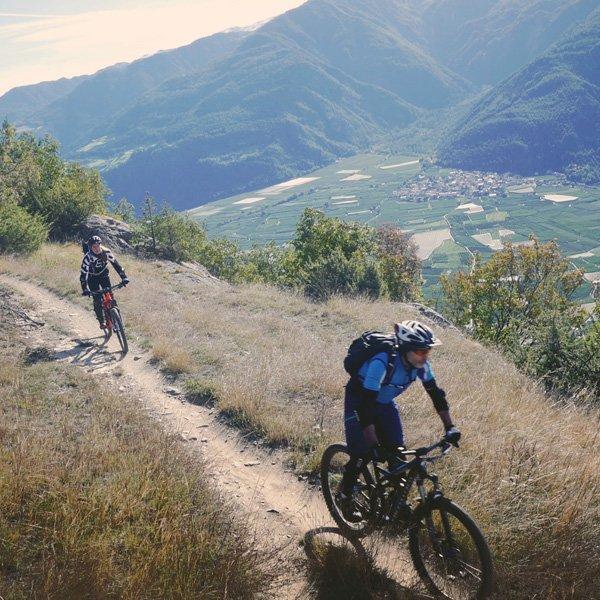 TrailCamp - Lerne Mountainbiken auf den Trails des Vinschgaus