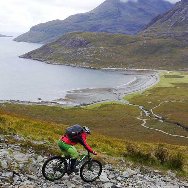 BikeReise Schottland Singletrails & Singlemalts